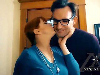Stepmom seduces her stepson