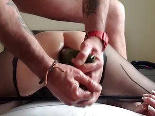 05.02.2019. Naughty office slut. anal.. dp.. fisted.. squirt