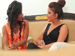 New hot bhabhi has sex, fucks two girls