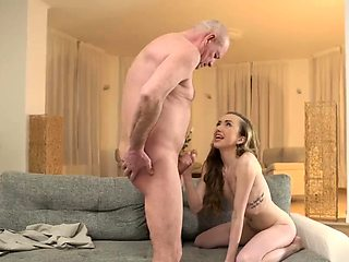 Old granny fucks monster cock and lick me daddy Russian Lang