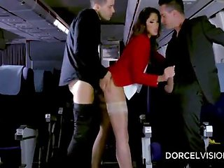 Part3, Sex, Airlines Hostess, Flight Attendant, Nylon Stockings!!