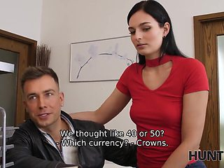 HUNT4K. Chick cant get her transaction so why she should fuck