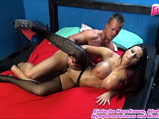 german real prostitute threesome mmf in brothel big tits