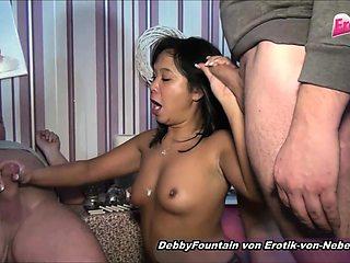 German homemade swinger orgy with mature mom