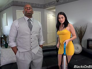 Alex Coal loves sucking and riding a black cock more than anything