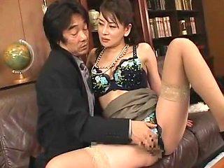 Horny Japanese slut Rei Kitajima in Amazing Office, Secretary JAV video