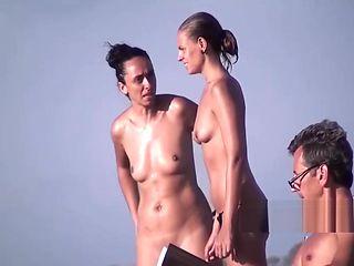 HD Public Beach Spycam Babes Compilation