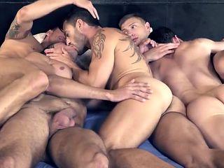 Straight mans play strange games naked