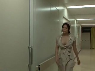 Incredible Japanese chick Yuna Shiina in Amazing Nurse, Big Tits JAV scene