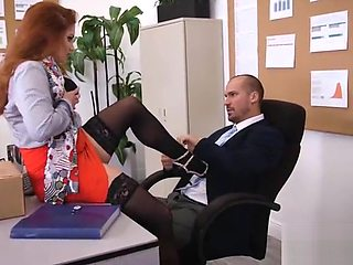 (Lennox Luxe) Sexy Big Tits Office Girl Love Hard Sex clip-23