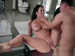 Mommy Reagan Foxx has horny big boobs