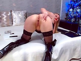 Horny Moms Hardcore Anal Fingering In Leather