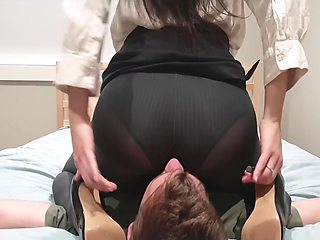 Asian Boss Smother Office Creep
