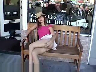 exhibitionist annie cant keep her dress on part 3
