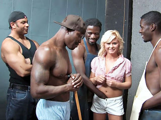 Teen Kelly Surfer Tries Interracial Gangbang With Big Black Cocks