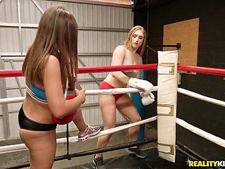 Ella Knox & Skylar Snow in Wrestling Fuck Buddies - WeLiveTogether