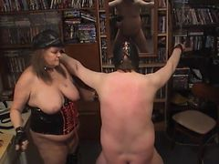 homemade pussycat gives a whipping.
