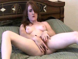 Horny Naked Ex Girlfriend Caught Masturbating On Cam
