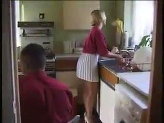 HYE Housewife Enjoys A Quickie In The Kitchen !