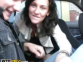 Gagged in the car on the way home