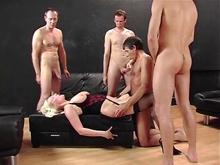 Kathleen White - German Gang-Bang Slut