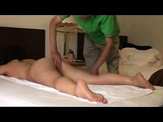 She wants whole body massage and it surely includes her clit