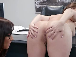 Strict dean punishes insatiable student for violating rules