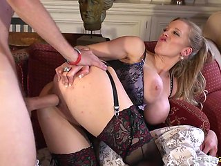 Mommy Got Boobs: Merry Pumpings's Nanny Service. Rebecca Moore, Danny D