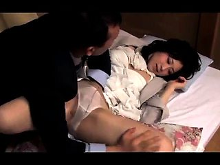 Cheating Japanese wife gets her peach fingered and fucked
