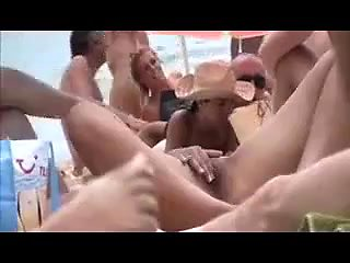 nudist beach couple fun 1
