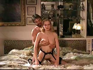 Incredible facial retro movie with Burd Tranbaree and Guy Royer