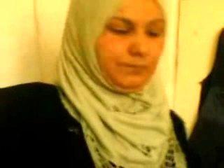 Arabic hijabi lady