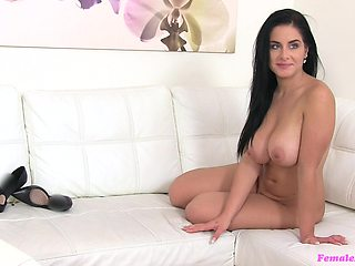 Alex Black wants to become a model and gets fucked by female agent