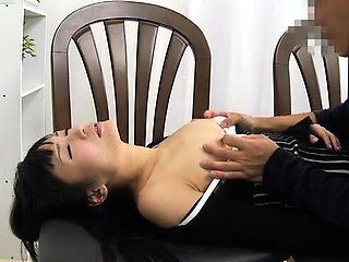Sleeping Japanese beauties getting used by horny boys