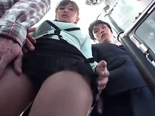 beautiful Wife and the Bus Perverts 1of5 censored ctoan