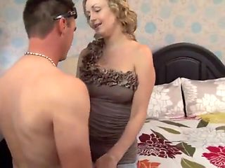 Chastity cuckold - humiliation and cleanup duty