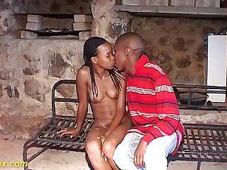 Steamy Real African Step Siblings Sex