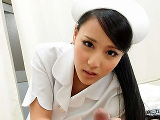 Hot Nurse Ren Azumi Fucked By Patient - JapanHDV