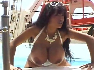 Angelique in the beach