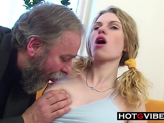 Teen Loves Old Daddy Dick