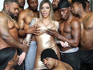 Karma Rx Blows 13 Big Black Dicks