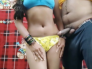 Indian beautiful Punjabi girl has hard sex with devar