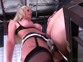 Big tits pornstar femdom with cumshot