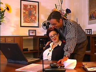 Perfect Natural Tits Secretary Fuck