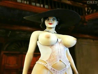 Resident Evil Village - Lady D Quick Animation