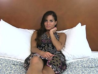 Beautiful brunette sweetie Inna in erotic scenery