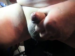 70 yrold Grandpa #209 uncut cum close mature solo wank