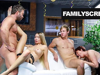 Brothers Work on Stepmom and Bratty Sis
