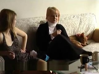 Teen Vendula comes to her 1st casting EVER with her MOM
