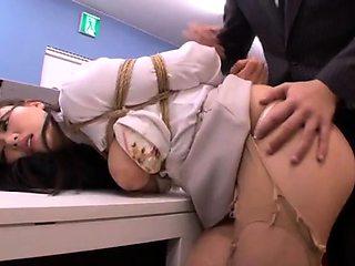 Busty Oriental wife unleashes her bondage fetish fantasies